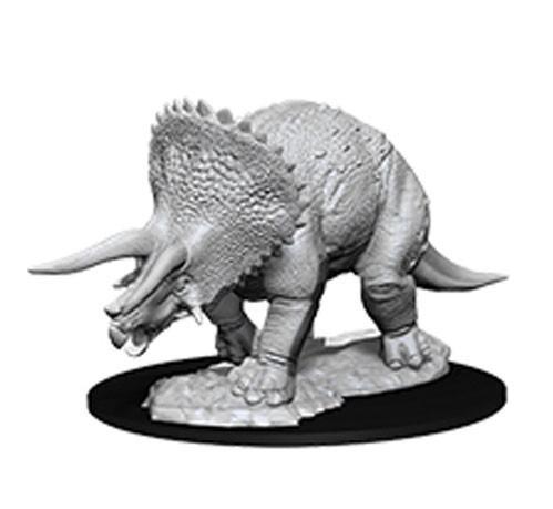 D&D Nolzurs Marvelous Unpainted Minis: Triceratops (1)