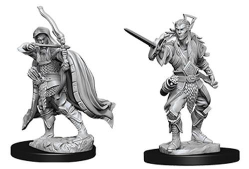D&D Nolzurs Marvelous Unpainted Minis: Male Elf Rogue (2)