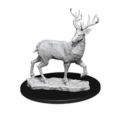 WizKids Deep Cuts Unpainted Miniatures: Stag (1)