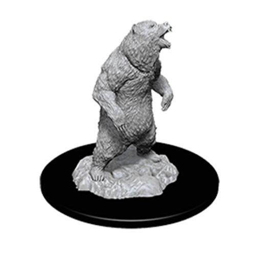 WizKids Deep Cuts Unpainted Miniatures: Grizzly (1)