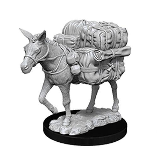 WizKids Deep Cuts Unpainted Miniatures: Pack Mule (1)
