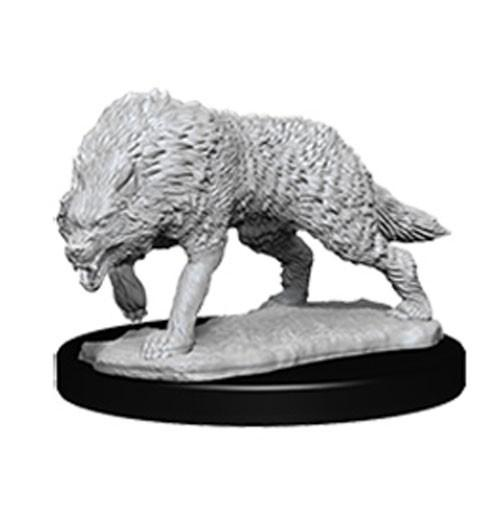 WizKids Deep Cuts Unpainted Miniatures: Timber Wolves