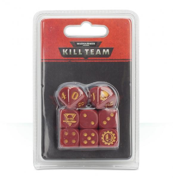 Warhammer 40K: Kill Team Adeptus Mechanicus Dice