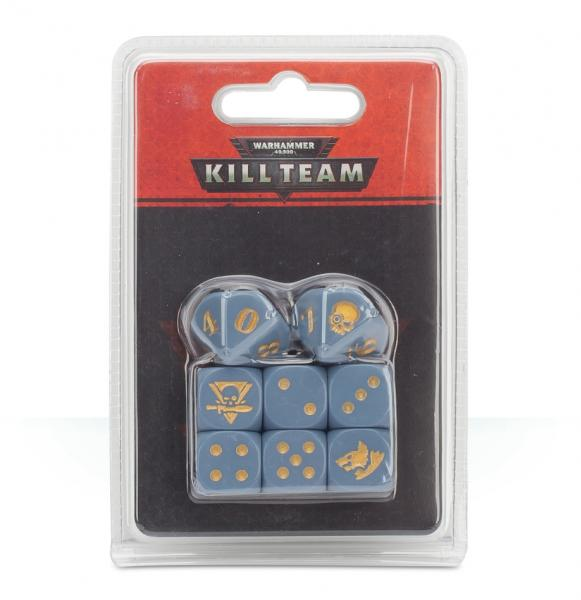 Warhammer 40K: Kill Team Space Wolves Dice