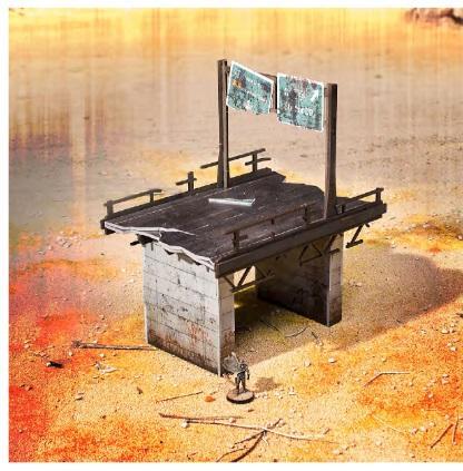 28mm Post Apocalypse: Wasteland Highway #2 (Color ED)