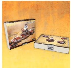 28mm Post Apocalypse: Stranded Ship (Color ED)