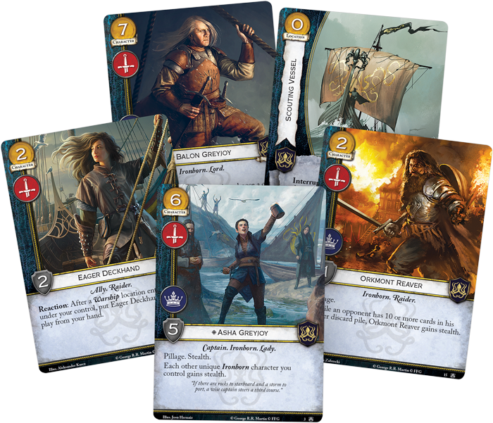 A Game of Thrones LCG: Kings of the Isles Expansion