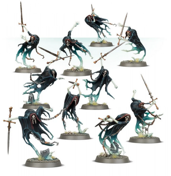 Age of Sigmar: Nighthaunt Bladegheist Revanants