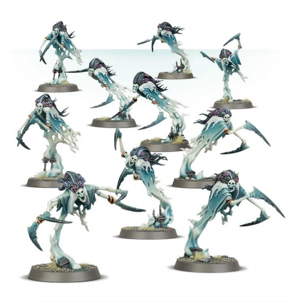 Age of Sigmar: Nighthaunt Dreadscythe Harridans