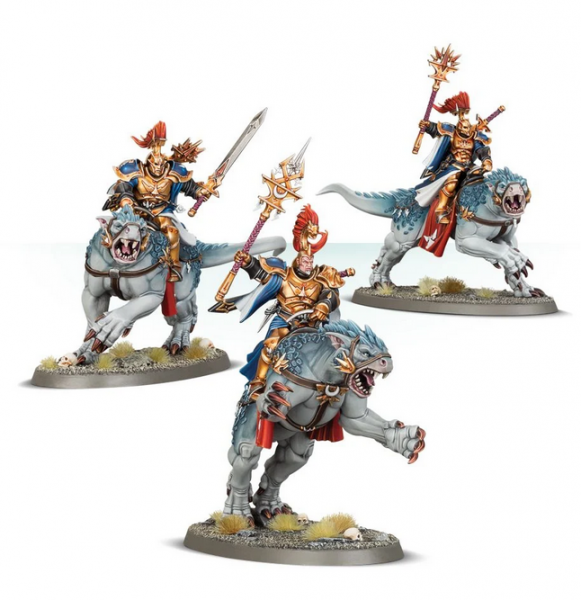 Age of Sigmar: Stormcast Eternals Evocators on Celestial Dracolines
