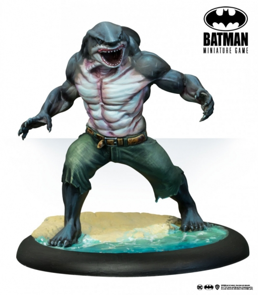 Batman Miniature Game: King Shark (TV Show) (Multiverse) (Resin)