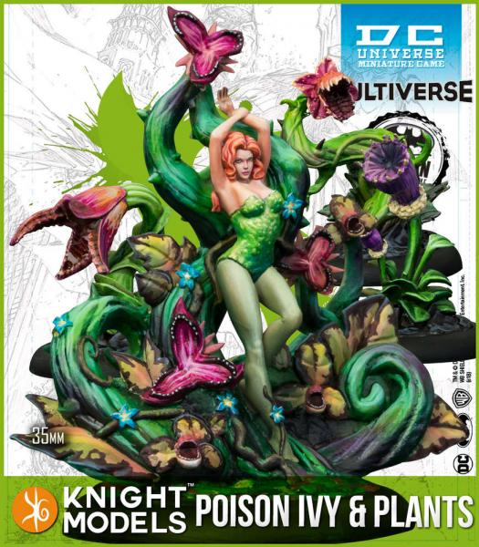 Batman Miniature Game: Poison Ivy & Plants (Comic) (Multiverse) (Resin)