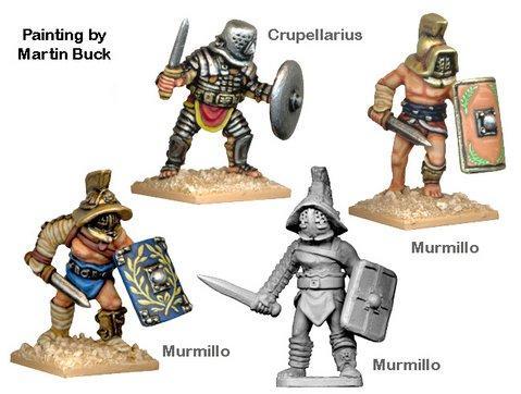 Sons of Mars: Gladatorial Combat - Murmillones & Crupellarius (4)