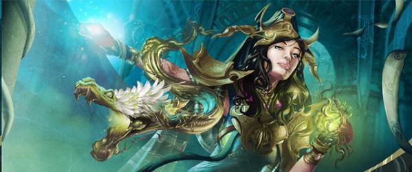 Gaming Accessories: (Playmat) Venompulse Enchantress