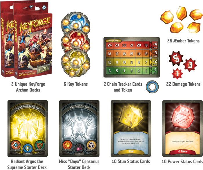 KeyForge: Call of the Archons Two-Player Starter