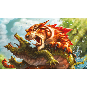 KeyForge: Mighty Tiger Playmat