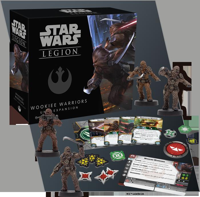 Star Wars: Legion - Wookiee Warriors Unit Expansion