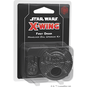 X-Wing 2.0: First Order Maneuver Dial Upgrade Kit