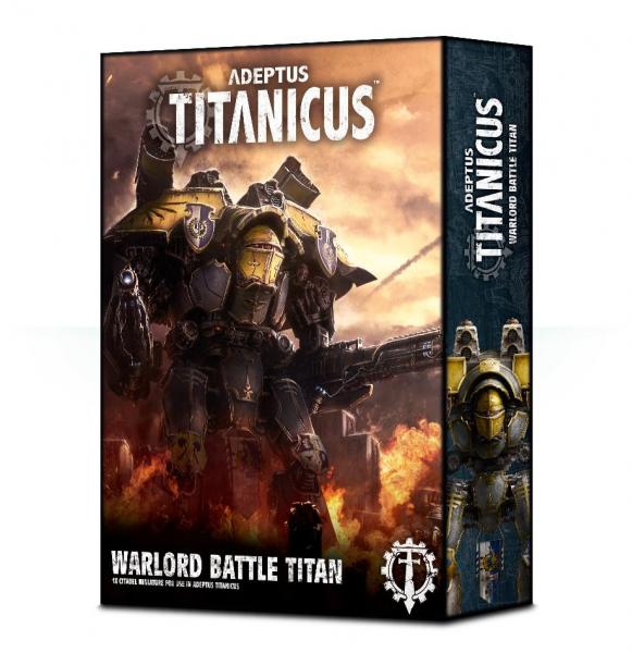 WH40K: Adeptus Titanicus Warlord Battle Titan