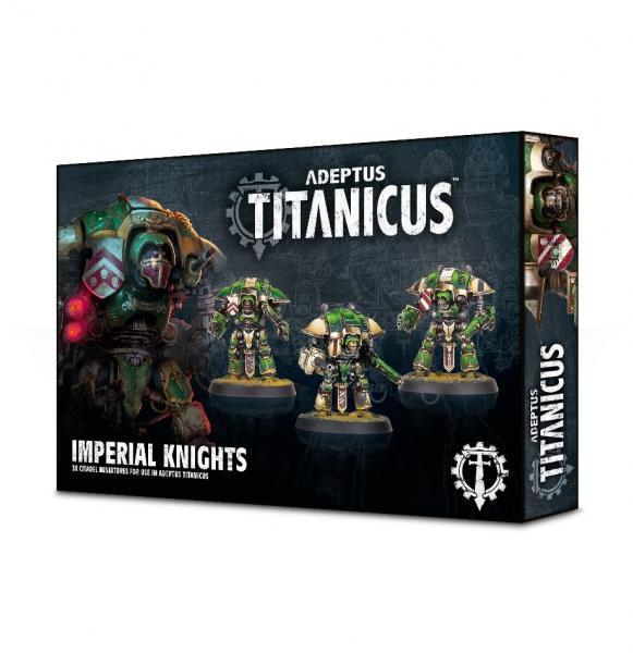 WH40K: Adeptus Titanicus Imperial Knights