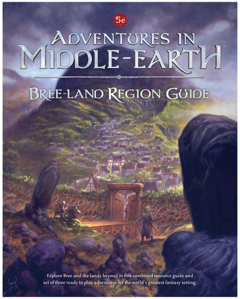 Dungeons & Dragons RPG: Adventures in Middle Earth - Bree-land Region Guide
