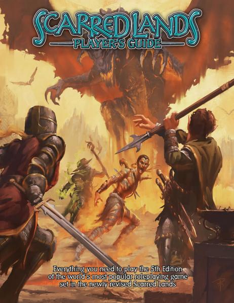 D&D 5th Edition: Scarred Lands Player's Guide