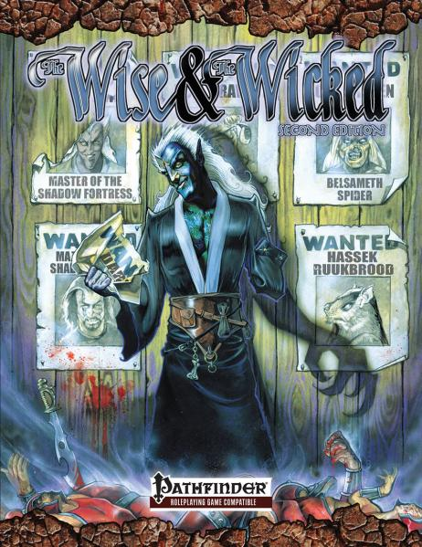 Pathfinder RPG: Scarred Lands Wise & The Wicked 2nd Edition