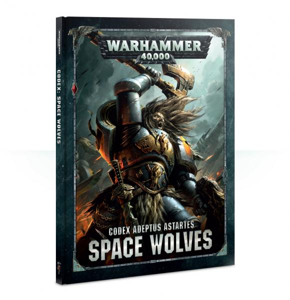 Warhammer 40K: Space Wolves Codex 2018 (HC)