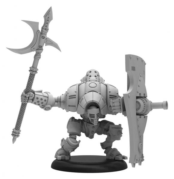 Warmachine: (Golden Crucible) Vanguard – Mercenary Light Warjack (metal/resin)