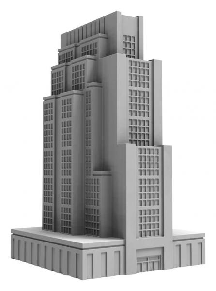 Monsterpocalypse (2018): Buildings - Downtown High Rise (resin)