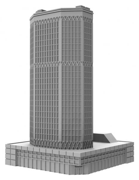 Monsterpocalypse (2018): Buildings - Corporate HQ (resin)