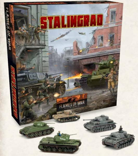 Flames Of War (WWII): (Iron Cross) Stalingrad 2-player Starter Set