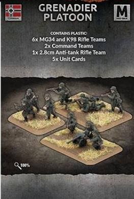 Flames of War: (Iron Cross) 8cm Mortar Platoon (Plastic)