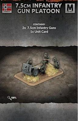 Flames of War: (Iron Cross) 7.5cm Infantry Gun Platoon