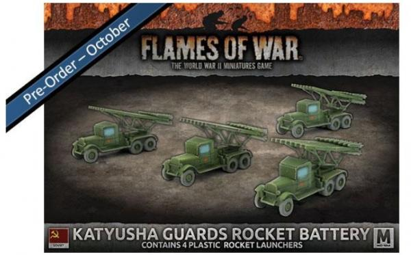 Flames Of War (WWII): (Soviet) Katyusha Guards Rocket Battery (Plastic)