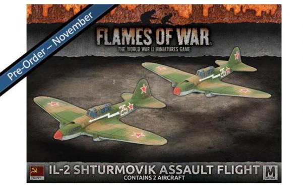 Flames Of War (WWII): (Soviet)  IL-2 Shturmovik Assault Flight