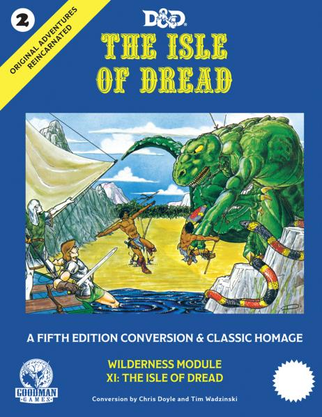 D&D 5th Edition: Original Adventures Reincarnated #2 - The Isle of Dread (HC)