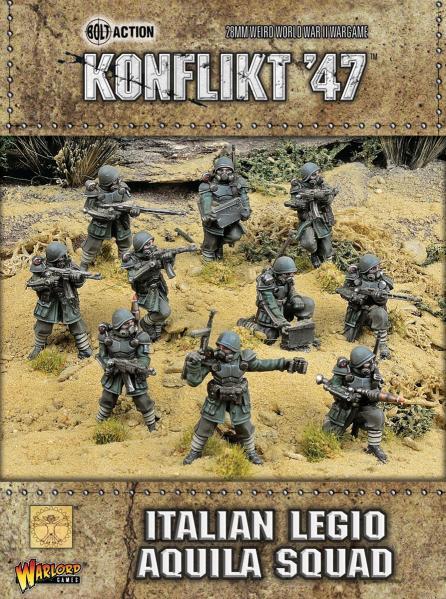 Bolt Action (Konflikt '47) Legio Aquila Squad