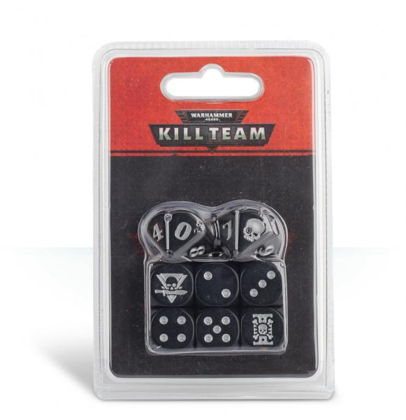 Warhammer 40K: Kill Team Deathwatch Dice