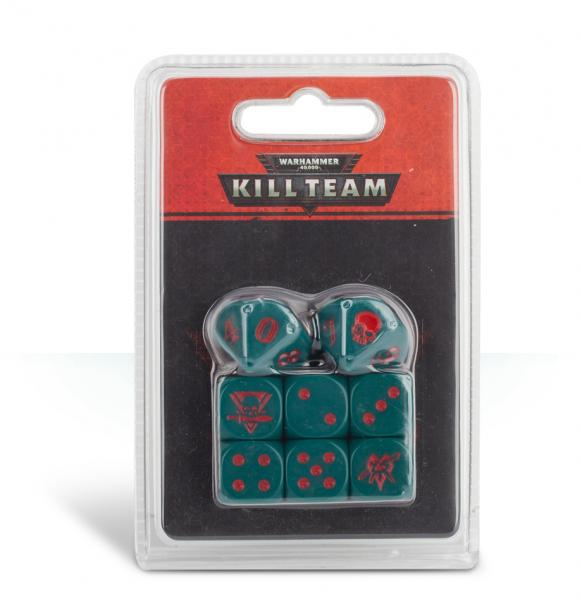 Warhammer 40K: Kill Team Drukhari Dice