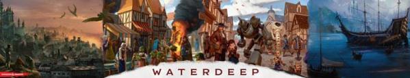 D&D: Waterdeep Dragon Heist Dungeon Master Screen