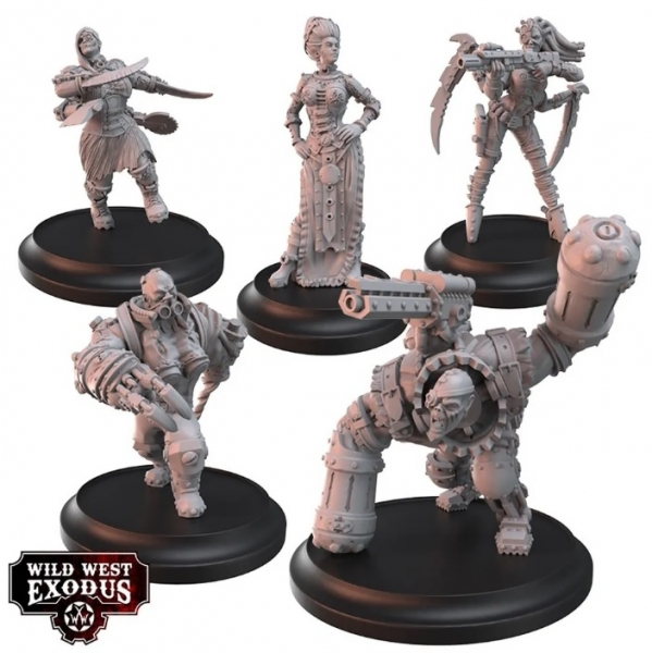 Wild West Exodus: Galvanic Mysteries Posse Box Set