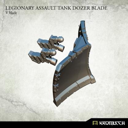Kromlech Accessories: Legionary Assault Tank Dozer Blade - V blade (1)