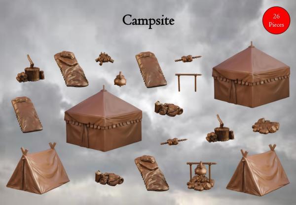 Terrain Crates: Campsite