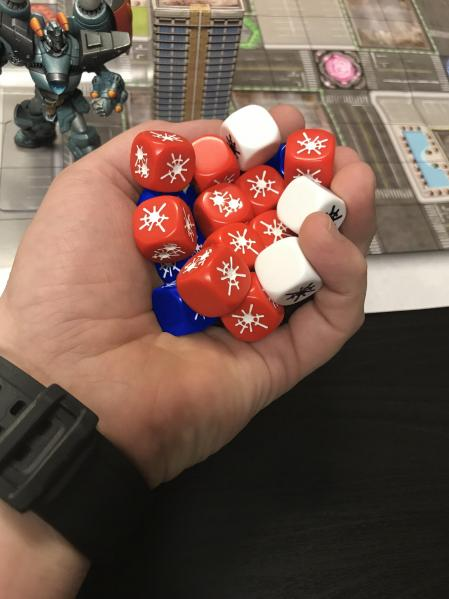 Monsterpocalypse (2018): Dice Set