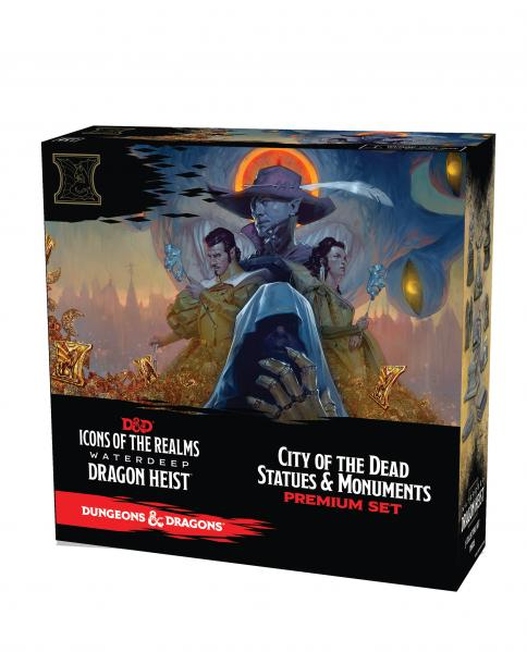 D&D: Icons of the Realms Set 9 - Waterdeep Dragon Heist City of the Dead Case Incentive