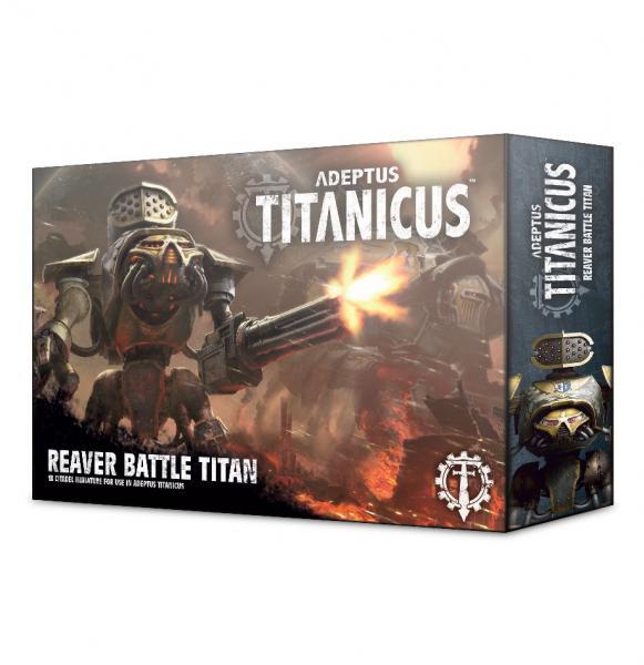 WH40K: Adeptus Titanicus Reaver Battle Titan