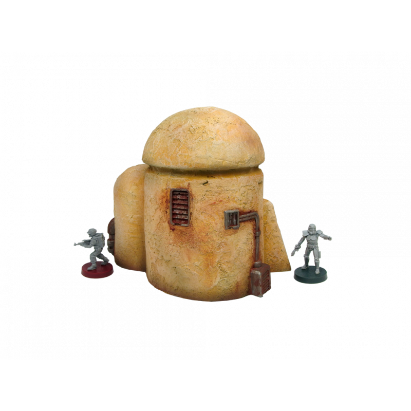 Micro Art Studio Terrain: Desert Silo (Star Wars Legion compatible)