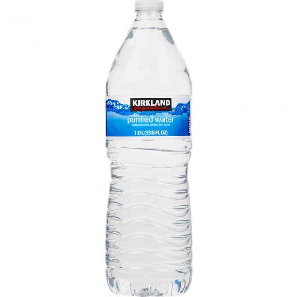 GK Cafe: Kirkland Signature Purified Drinking Water (1 Liter Bottle) (nt)