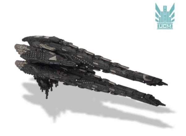 Dropfleet Commander: UCM Dreadnought
